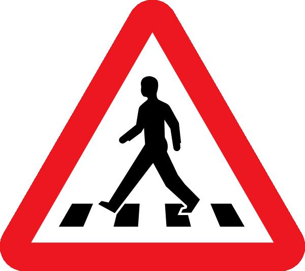 Pedestrian Crossing Clip Art at Clker.com.
