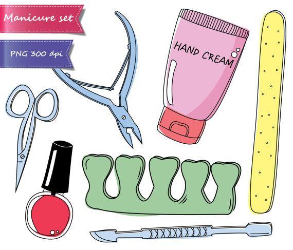 75% OFF SALE Manicure, pedicure, beauty, spa party, doodle.
