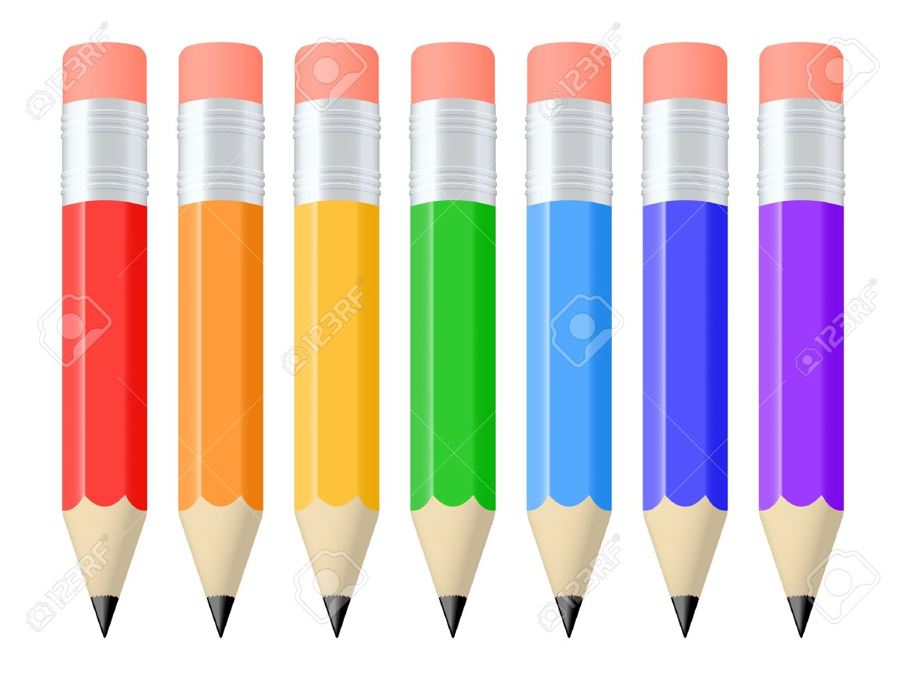 Clipart Images Of Pencils.