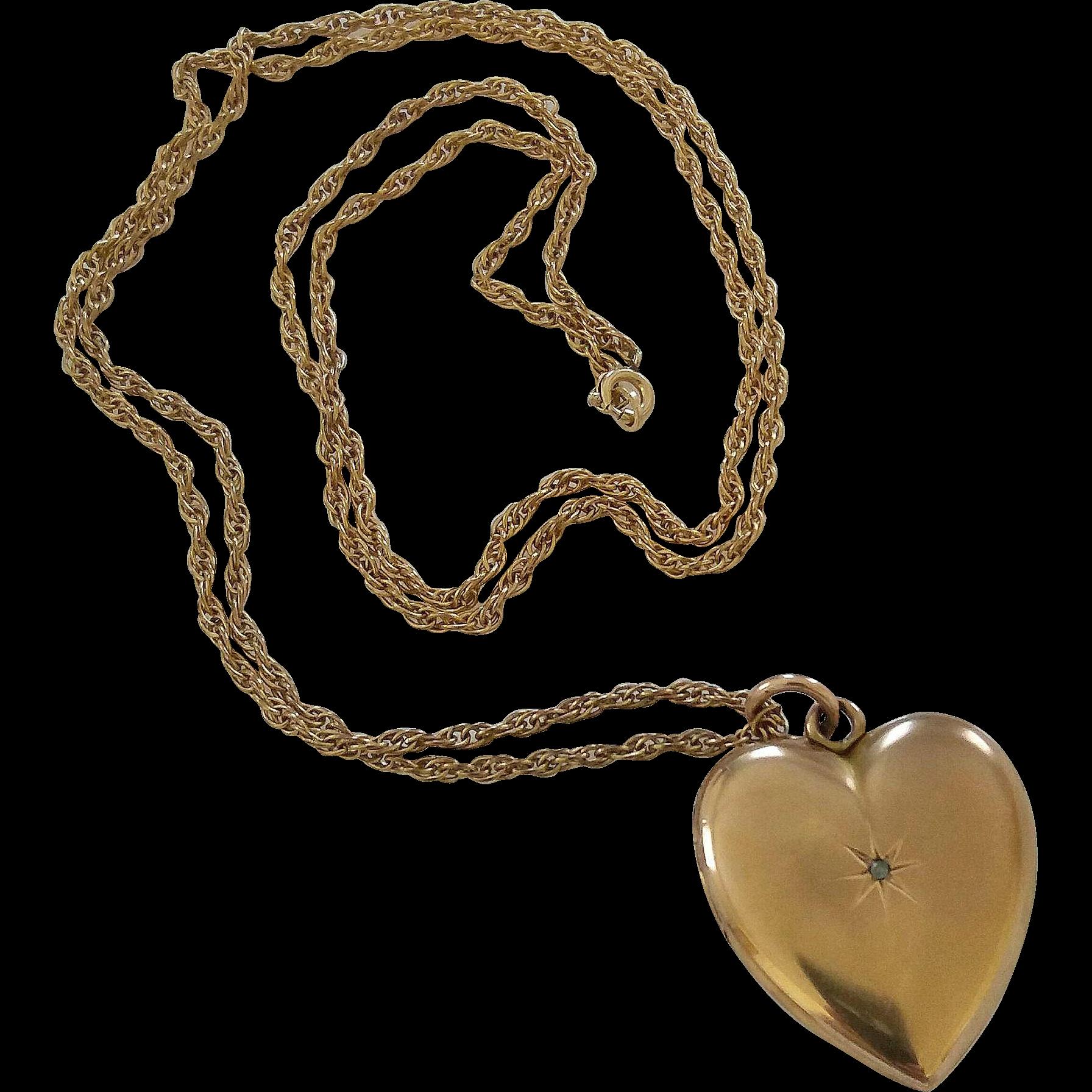 Download Heart Pendant PNG Clipart.