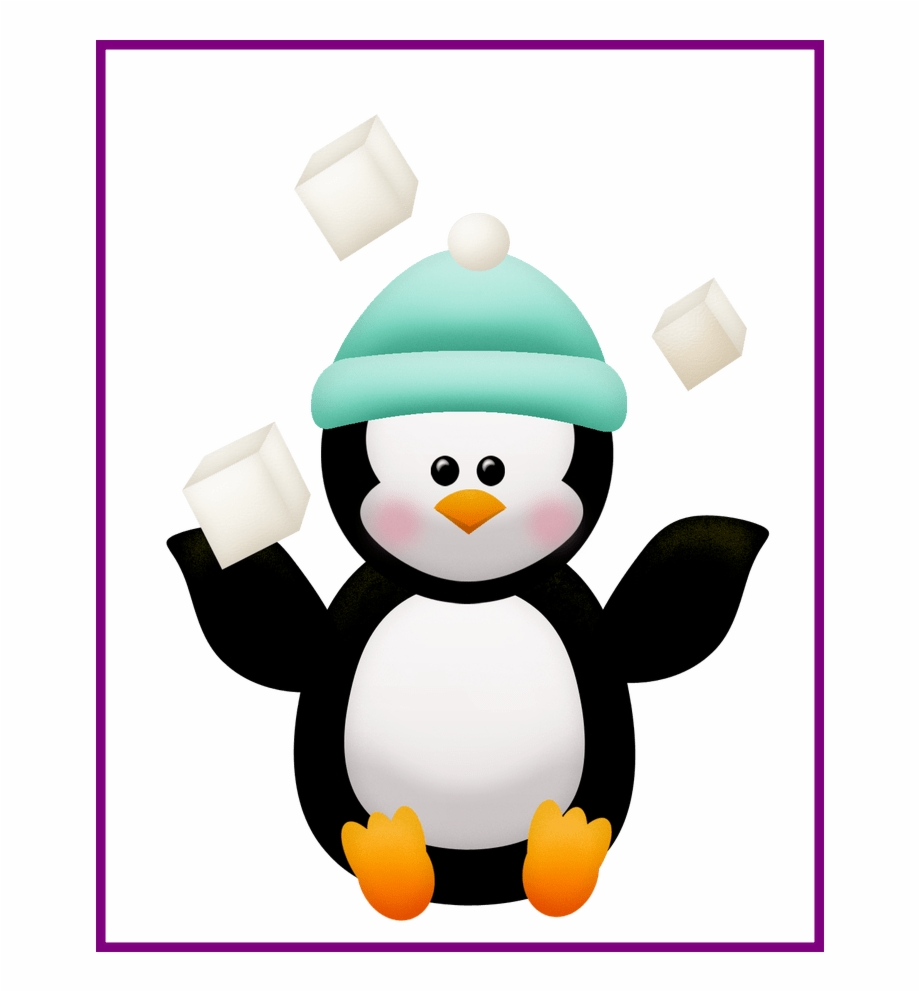 Penguins Clipart Hat.