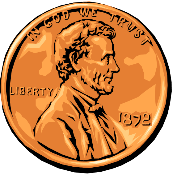 Pennies clipart real, Pennies real Transparent FREE for.