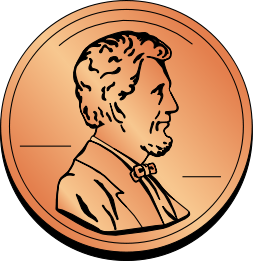 Free Penny Cliparts, Download Free Clip Art, Free Clip Art.