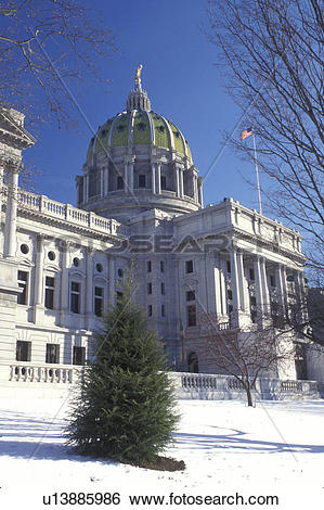 Stock Images of Harrisburg, State Capitol, State House, PA.
