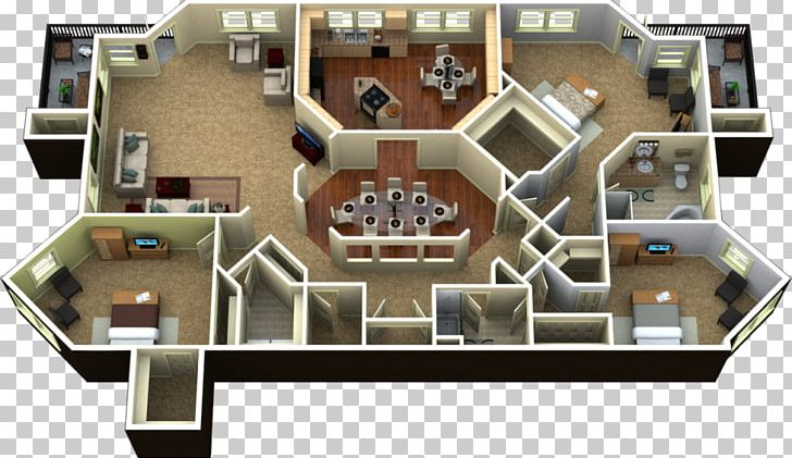 3D Floor Plan Penthouse Apartment PNG, Clipart, 3d Floor.