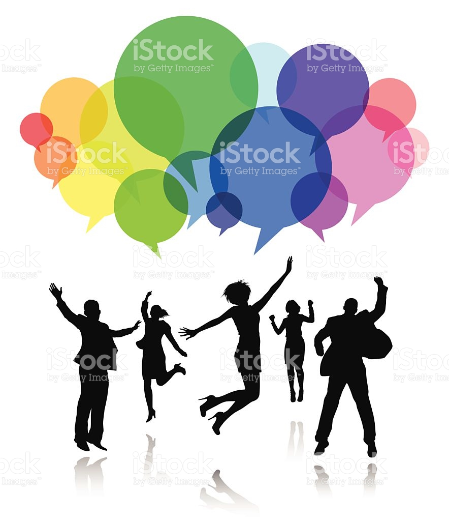 Clipart People Celebrating.