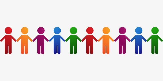 People Holding Hands, People Clipart, Hand In Hand, People.