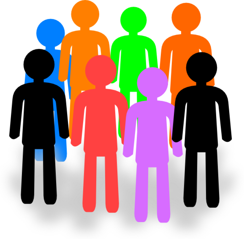 Group Of People Clipart Png.