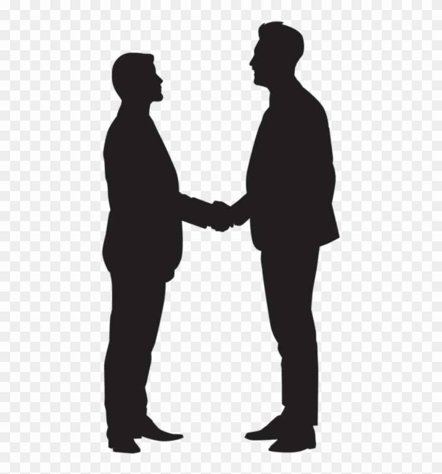 Silhouette Handshake Clipart Handshake Clip Art.