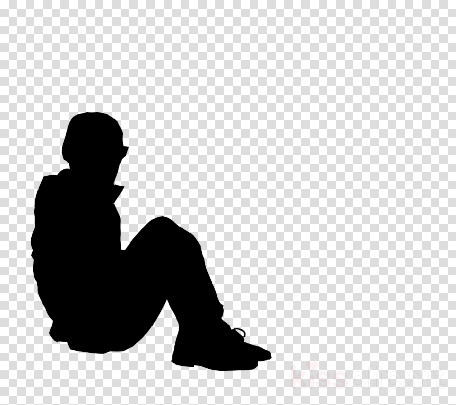 person sitting against wall png clipart Human clipart.