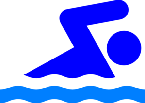 Clipart People Swimming.