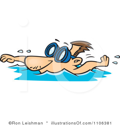clipart people swimming - Clipground