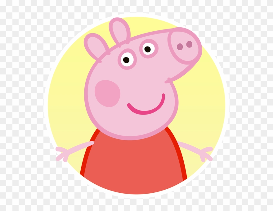 Peppa Pig Reading A Book Clipart (#3473974).