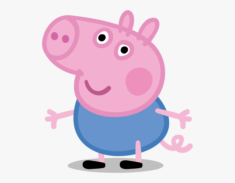 Peppa Pig Clipart Black And White.