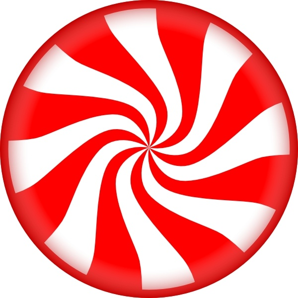 Peppermint Candy clip art Free vector in Open office drawing.