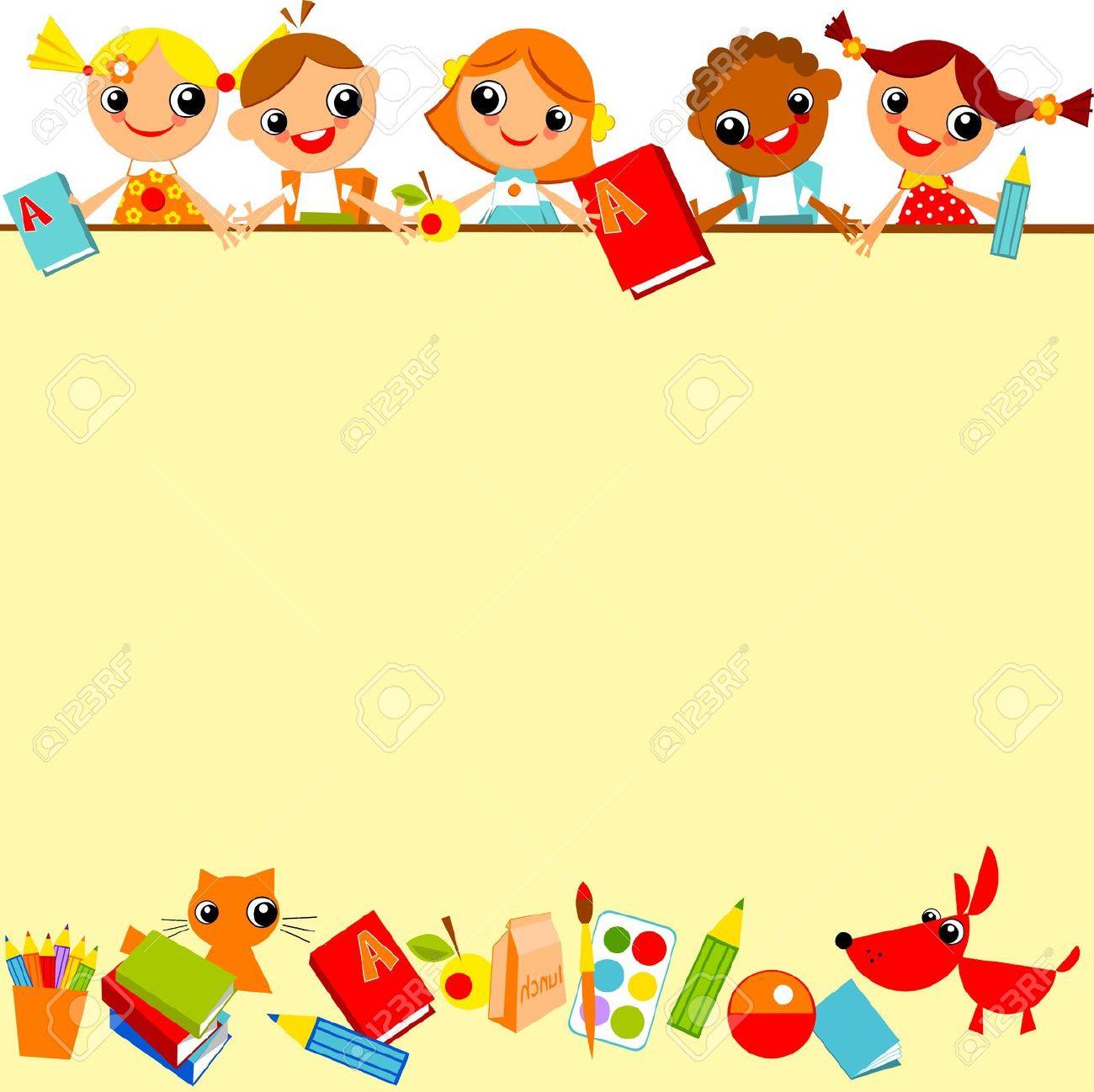 Bambini Scuola Clipart Foto Royalty Free, Immagini, Immagini E.