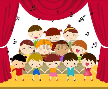 Stage Performance Clipart & Free Clip Art Images #8846.