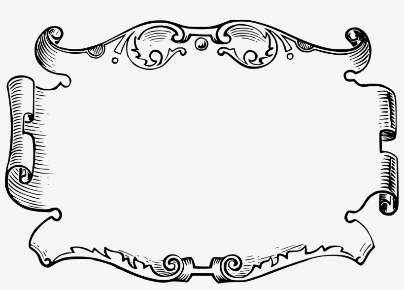 White Clipart Frame Png.
