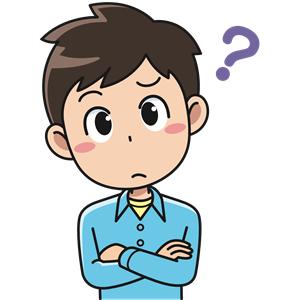 Perplexed Male (#3) clipart, cliparts of Perplexed Male (#3.