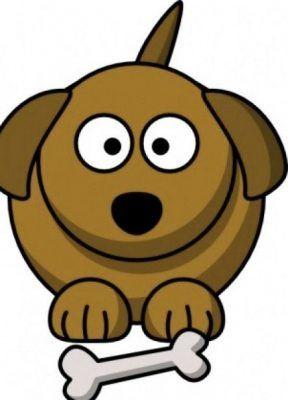 imagenes de perros en caricatura tiernos.