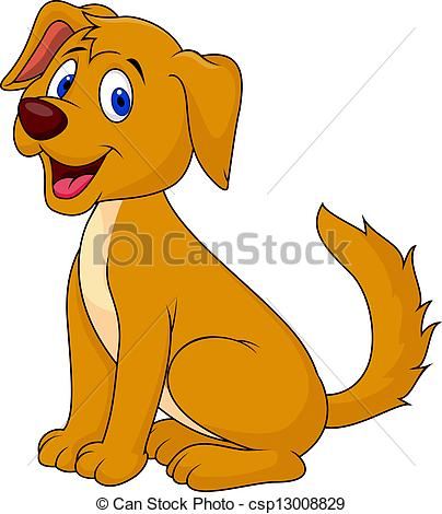 Perro clipart 6 » Clipart Station.