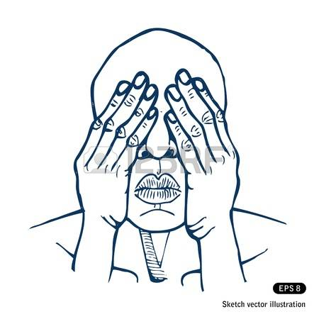 206 Covering Eyes Stock Vector Illustration And Royalty Free.