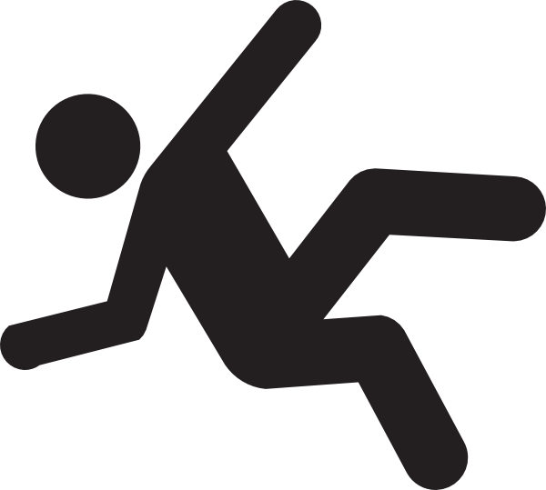 Person Falling Clip Art N7 free image.
