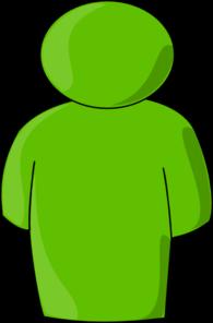 Person Buddy Symbol Green Light Clip Art at Clker.com.