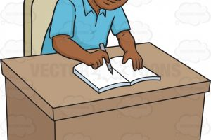 Person writing clipart 2 » Clipart Station.