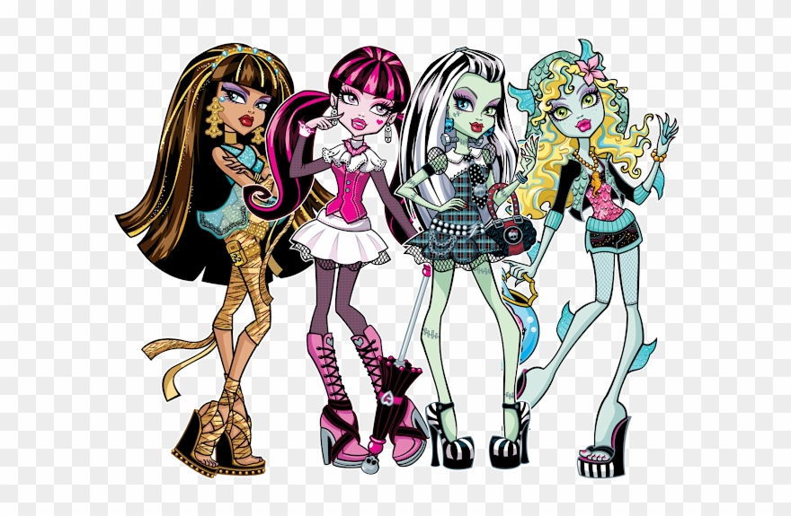 Free Monster High Logo Clip Art.
