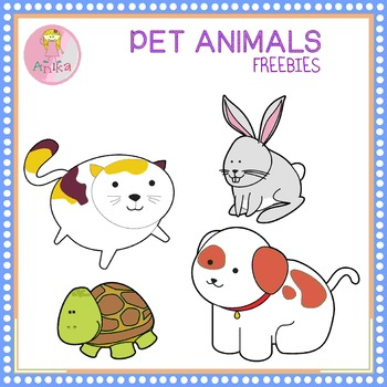 Pet Animals Clip Art Freebies.