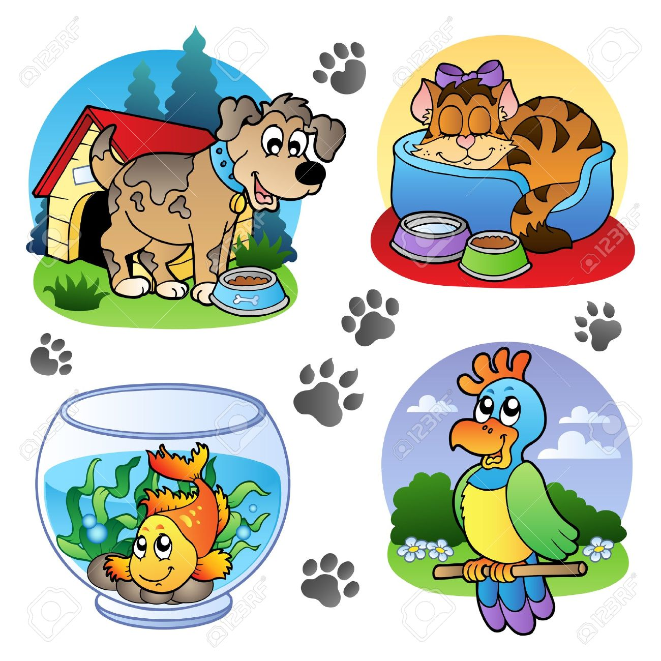 Pet animals clipart 9 » Clipart Station.