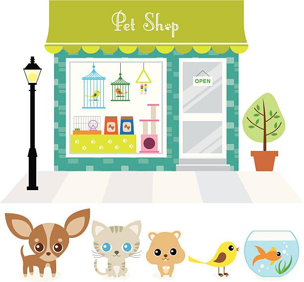 Best Pet Shop Illustrations, Royalty.