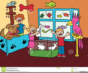 Pet Store Clipart Free.