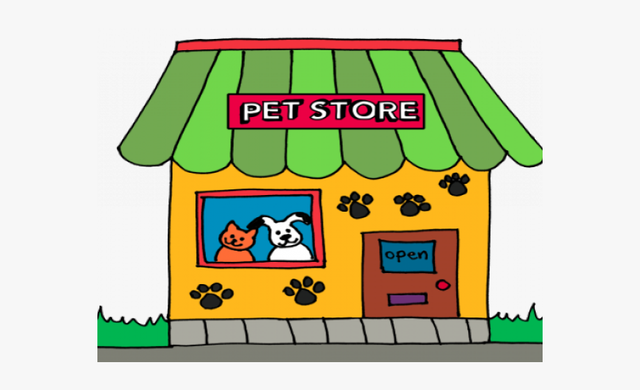 Pet Store Clip Art, Cliparts & Cartoons.