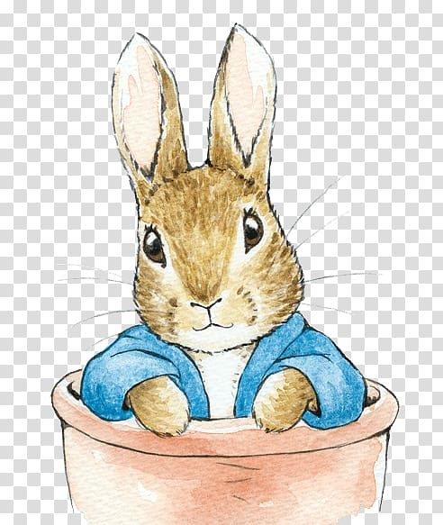 Brown rabbit illustration, Domestic rabbit The Tale of Peter.