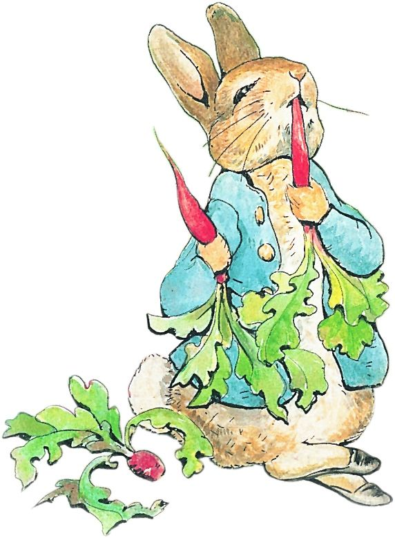 Peter rabbit clipart 9 » Clipart Station.