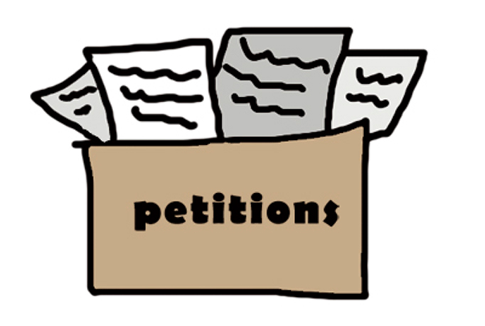 freedom of petition.