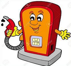 Free Gas Pump Clipart.