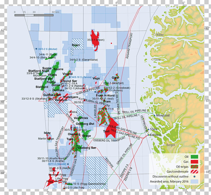 Norwegian continental shelf Norwegian Petroleum Directorate.