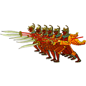 Phalanx clipart, cliparts of Phalanx free download (wmf, eps.