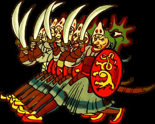 Phalanx army.