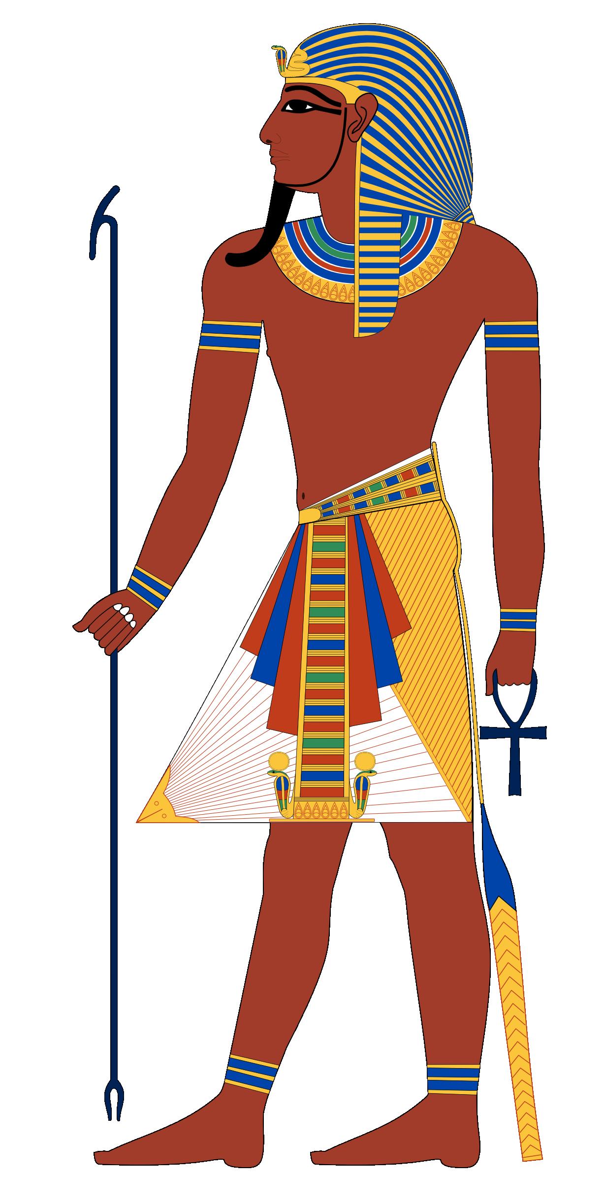 Ra Egyptian Pharaoh Clipart.
