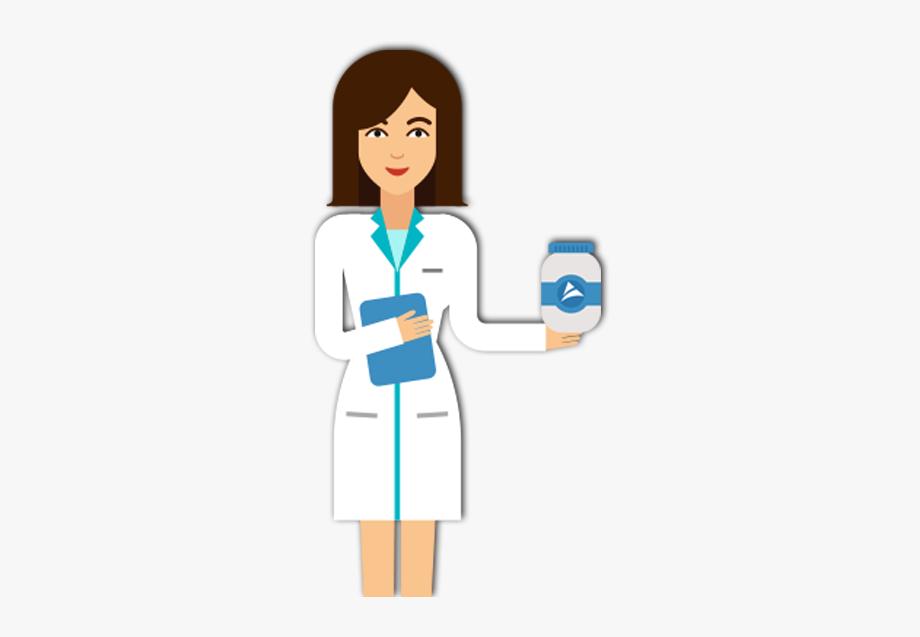 Clip Art Pharmacist Cartoon.