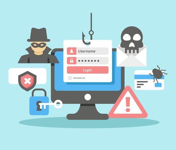 Phishing Account Vector.