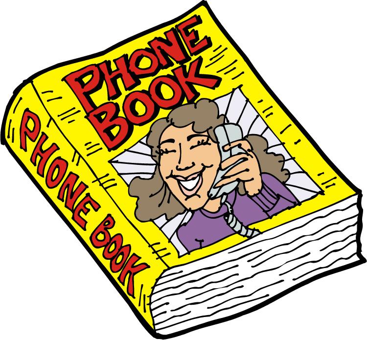 Phone Book Clip Art.