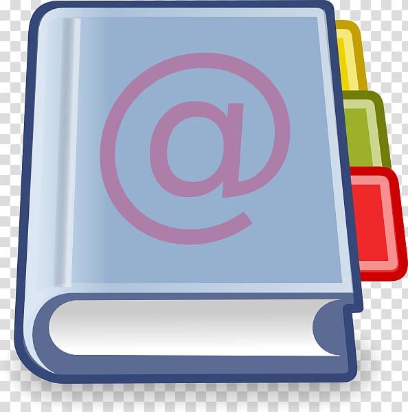 Address book Telephone directory , Address Book transparent.
