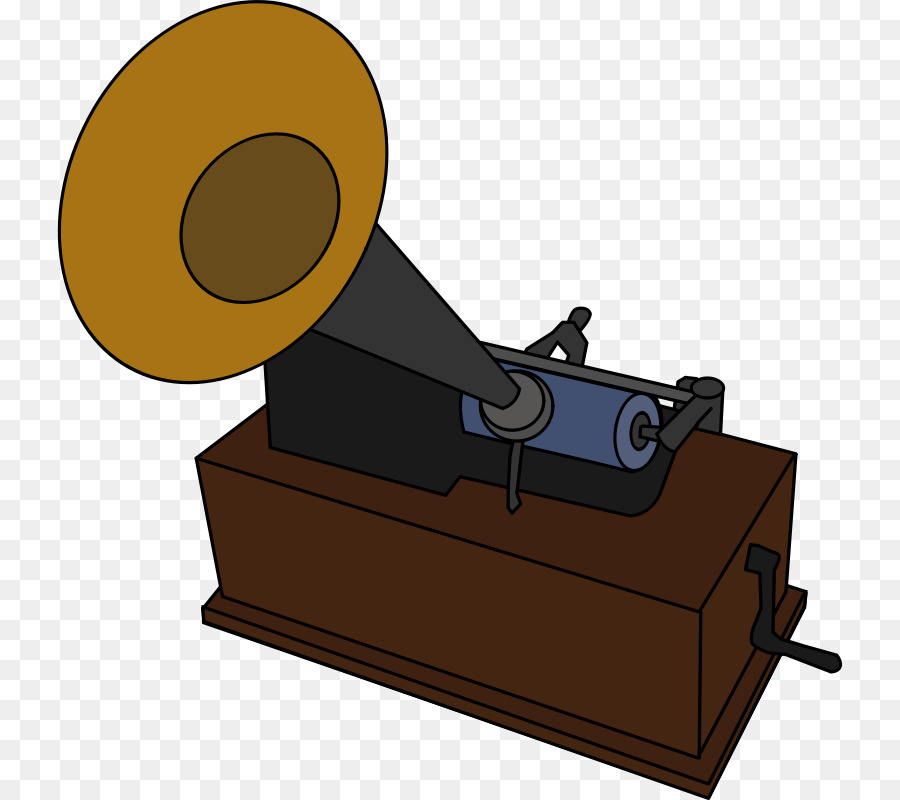 Phonograph cylinder Phonograph record Clip art.