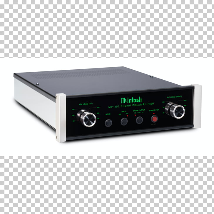 Electronics Preamplifier McIntosh Laboratory McIntosh MP100.