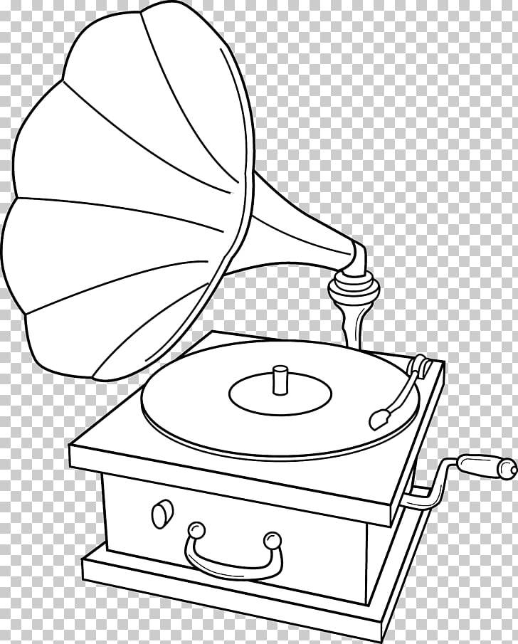 Phonograph record Coloring book , gramophone PNG clipart.